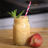 Vegan Peaches and Cream Smoothie