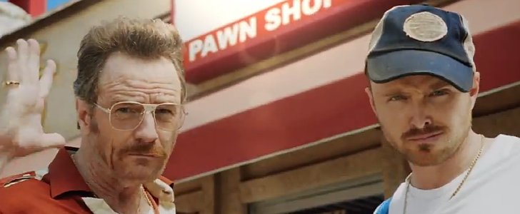 Bryan Cranston and Aaron Paul's Hilarious Pawn Stars Spoof Is a Must Watch