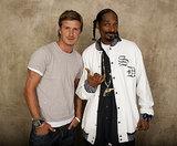 David Beckham and Snoop Lion
