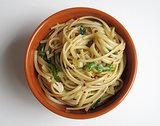 Garlicky Arugula Pasta