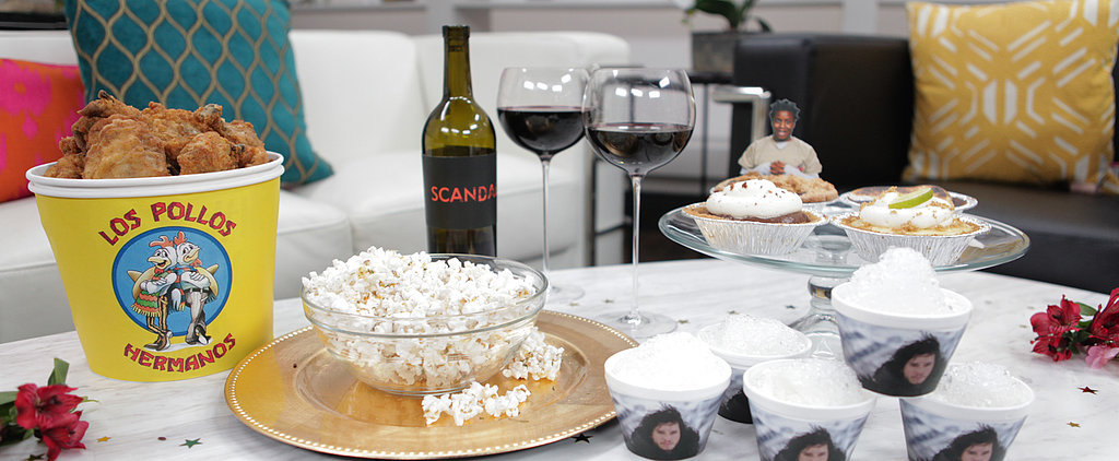 All the Nibbles You Need For a Must-RSVP Emmy Awards Bash