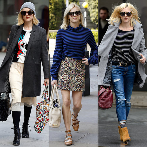 Every Outfit Fearne Cotton Has Worn to Radio 1 in 2014