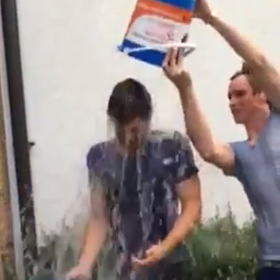 Jamie Dornan Eddie Redmayne Doing ALS Ice Bucket Challenge