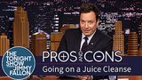 Jimmy Fallon Does A Juice Cleanse