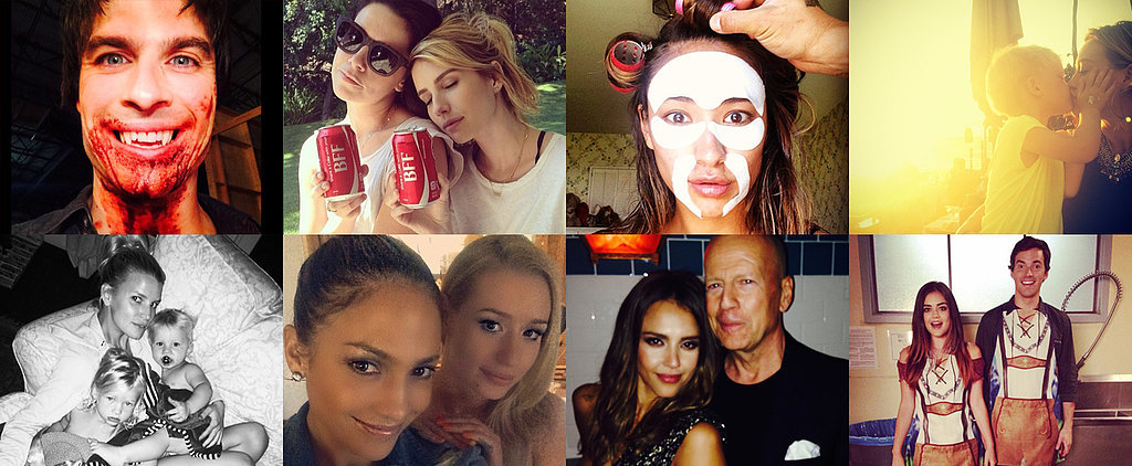 Selfies and Sweet Kisses Take Over This Week's Cutest Celebrity Candids