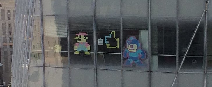 Two Offices, One Mission: Use Post-Its to Create Famous Characters
