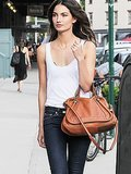 The Sexy Outfit Combo Lily Aldridge Swears By