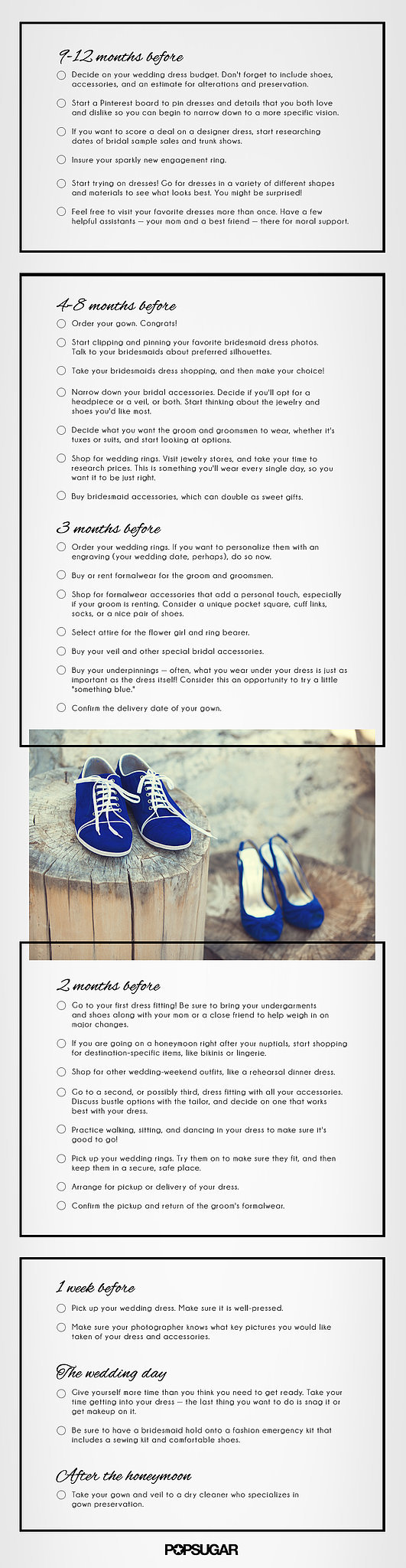 Attire Wedding Checklist Printable