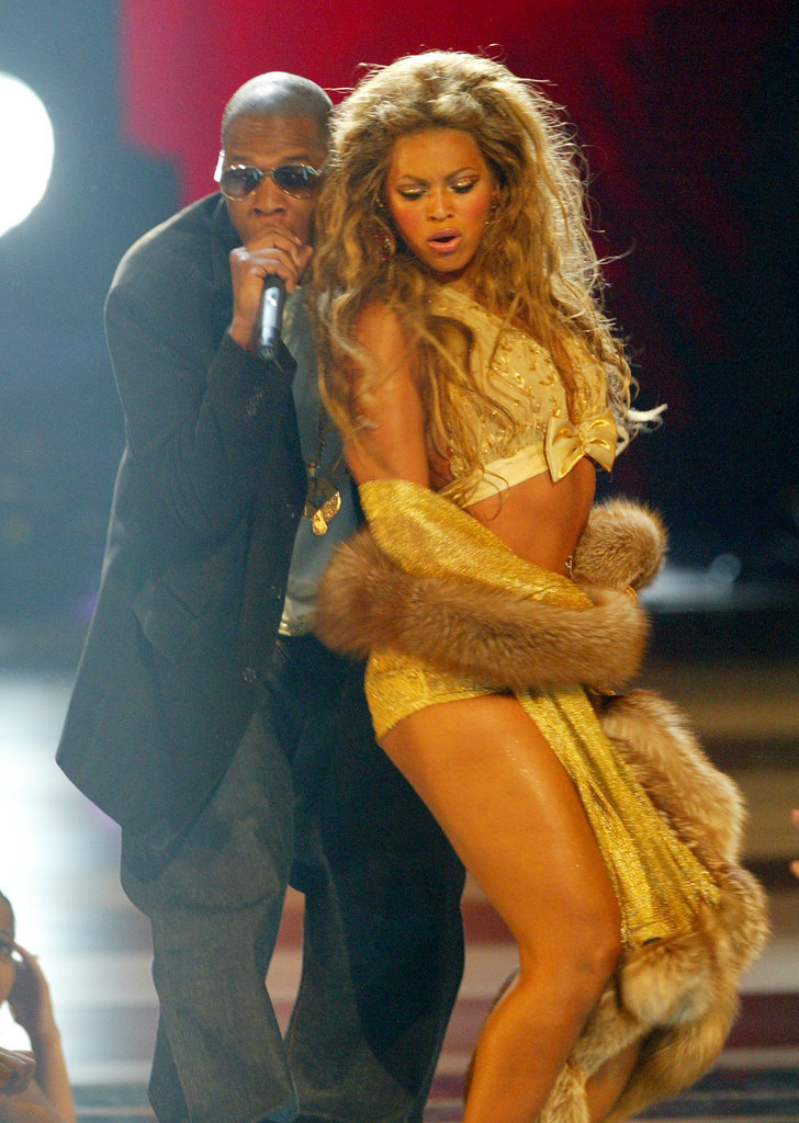 """2003: She sang """"Baby Boy"""" before performing """"Crazy in Love"""" with Jay Z. Everyone went nuts."""