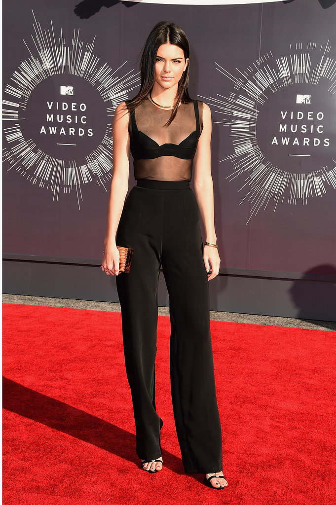 Kendall Jenner at the 2014 MTV VMAs