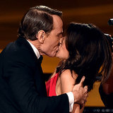 Julia Louis-Dreyfus and Bryan Cranston Properly Snogged at the Emmys