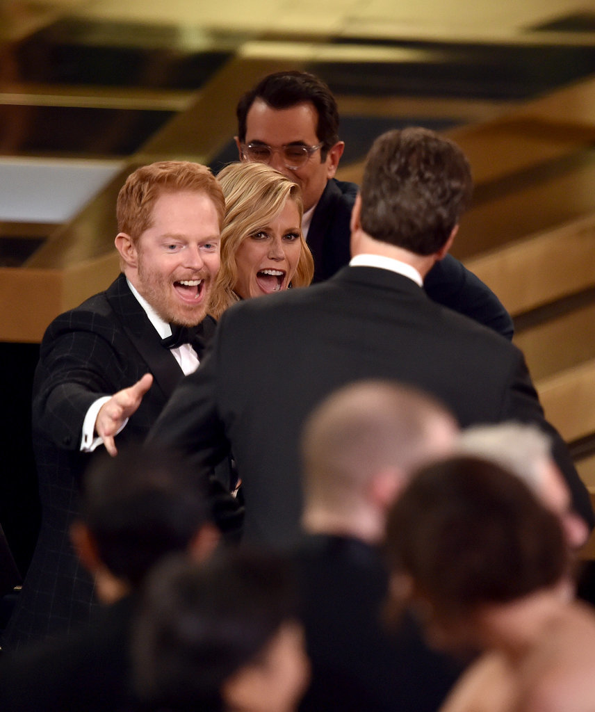 Jesse Tyler Ferguson and Julie Bowen got excited about their Modern Fami
