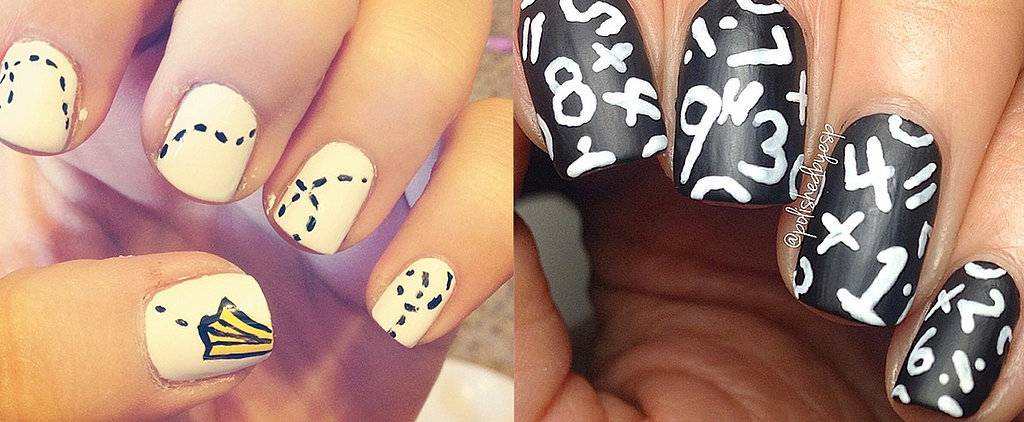 Procrastinate With These Back-to-School Nail Art Styles