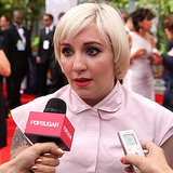 Lena Dunham Interview at the 2014 Emmy Awards (Video)