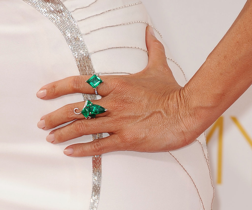 best jewelry at emmys 2014 popsugar fashion