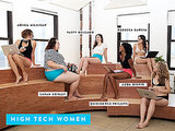 Female Tech CEOs Strip to Their Underwear, World Reacts
