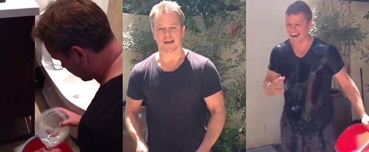 Hold Up — Matt Damon Used What For His Ice Bucket Challenge?!