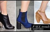 This Should Make Your Feet Happy: Chunky Heels Are 'In'