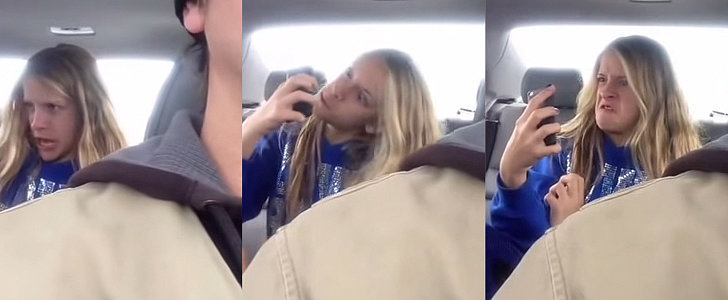 You'll Crack Up as a Dad Films His Daughter Taking Tons of Selfies