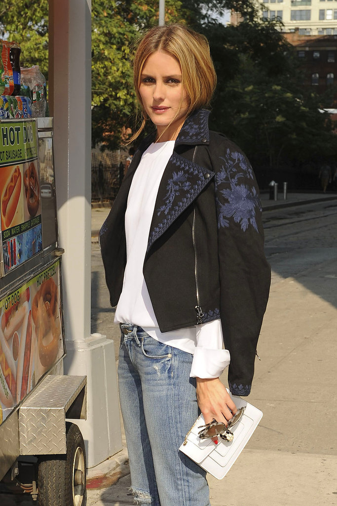 Of Course Olivia Palermo Is the First to Wear This Jacket