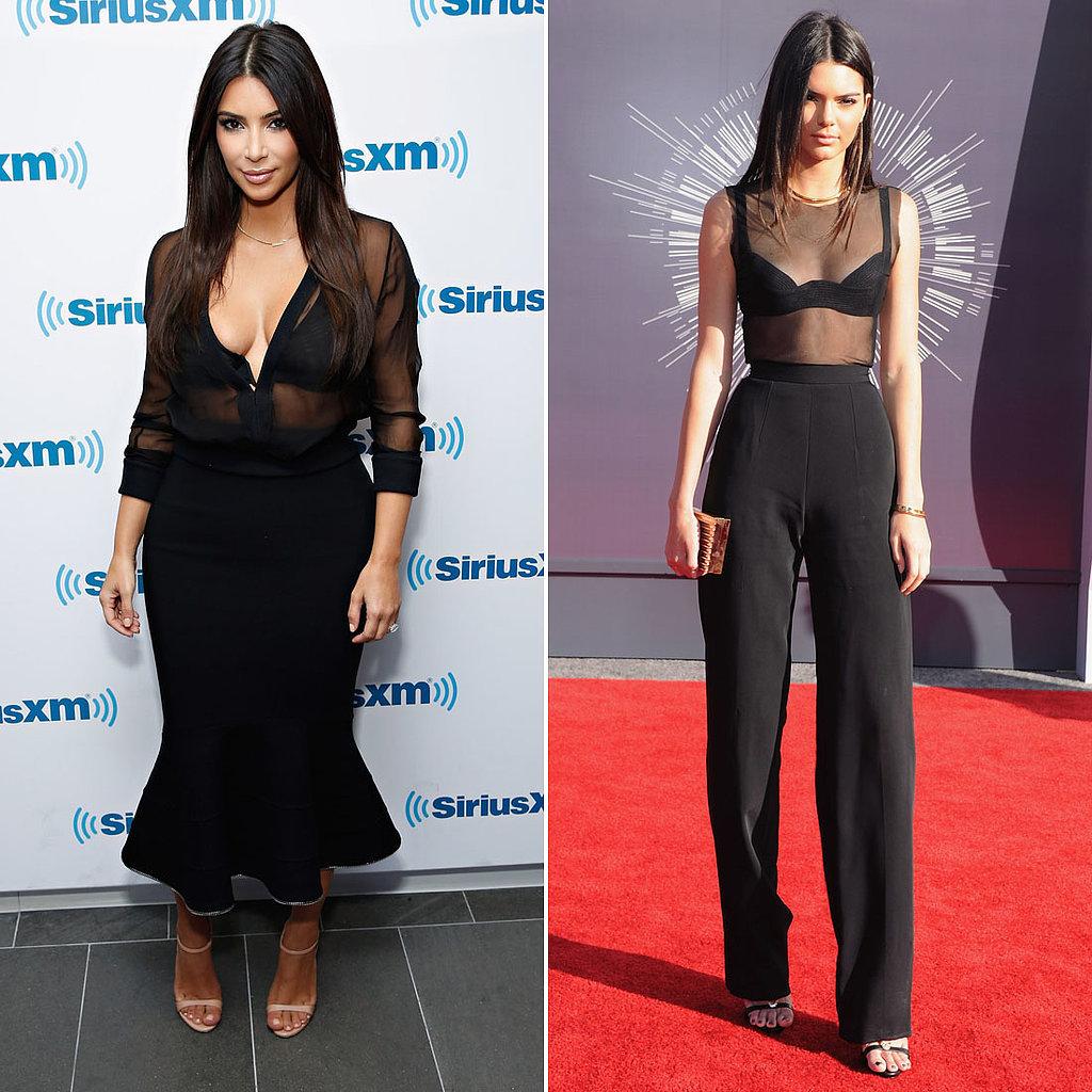 Who Wore Sheer Black Better?