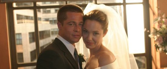 The Only Picture of Brad Pitt and Angelina Jolie's Wedding You're Going to See