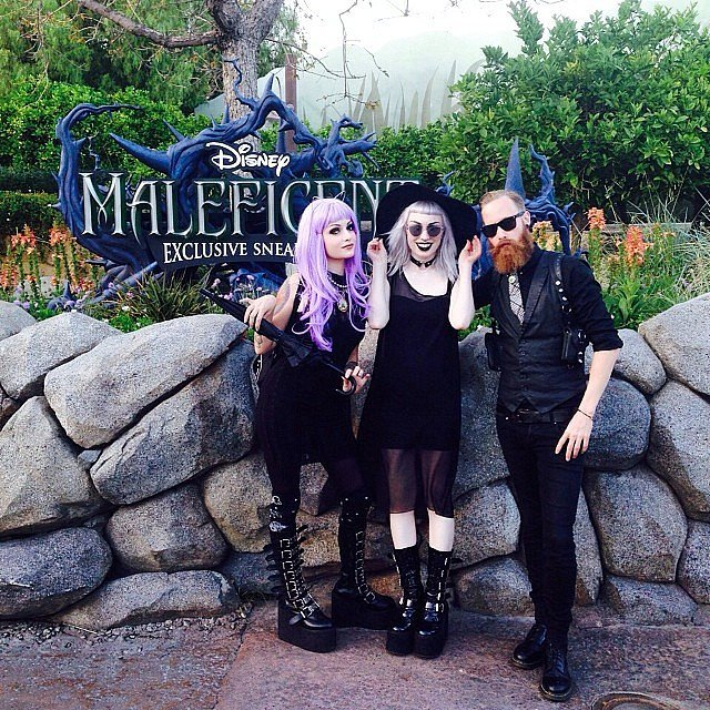 Got goth? Disneyland sure does.