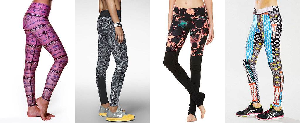 Gear Gone Wild: 13 Pairs of Printed Workout Pants