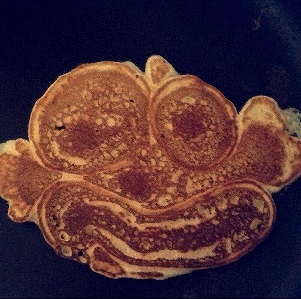 This Pancake Is Having a Rough Morning