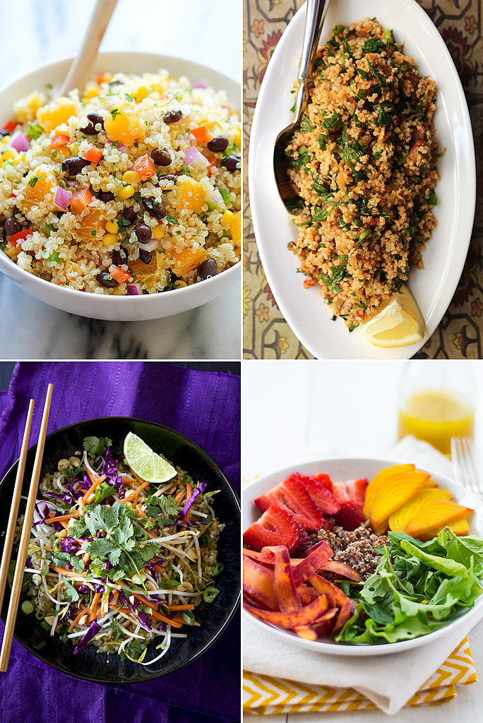 Stop Holding Out For a Lunchtime Hero, Quinoa Salads Are It