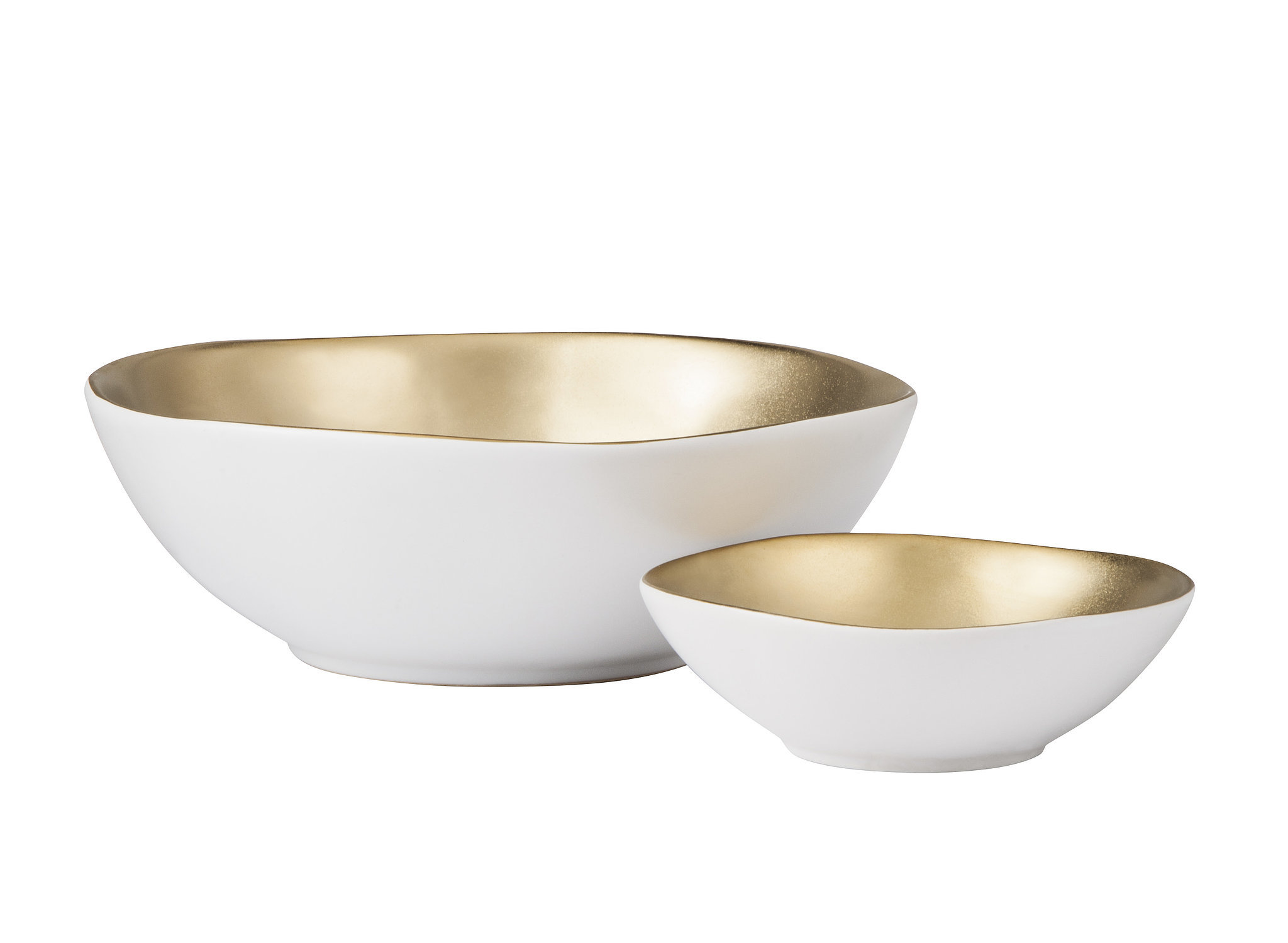 Gold and white bowls ($10 $20) See Targets Fab Fall Threshold Collection Before Anyone Else - Fall Home Decor Diy