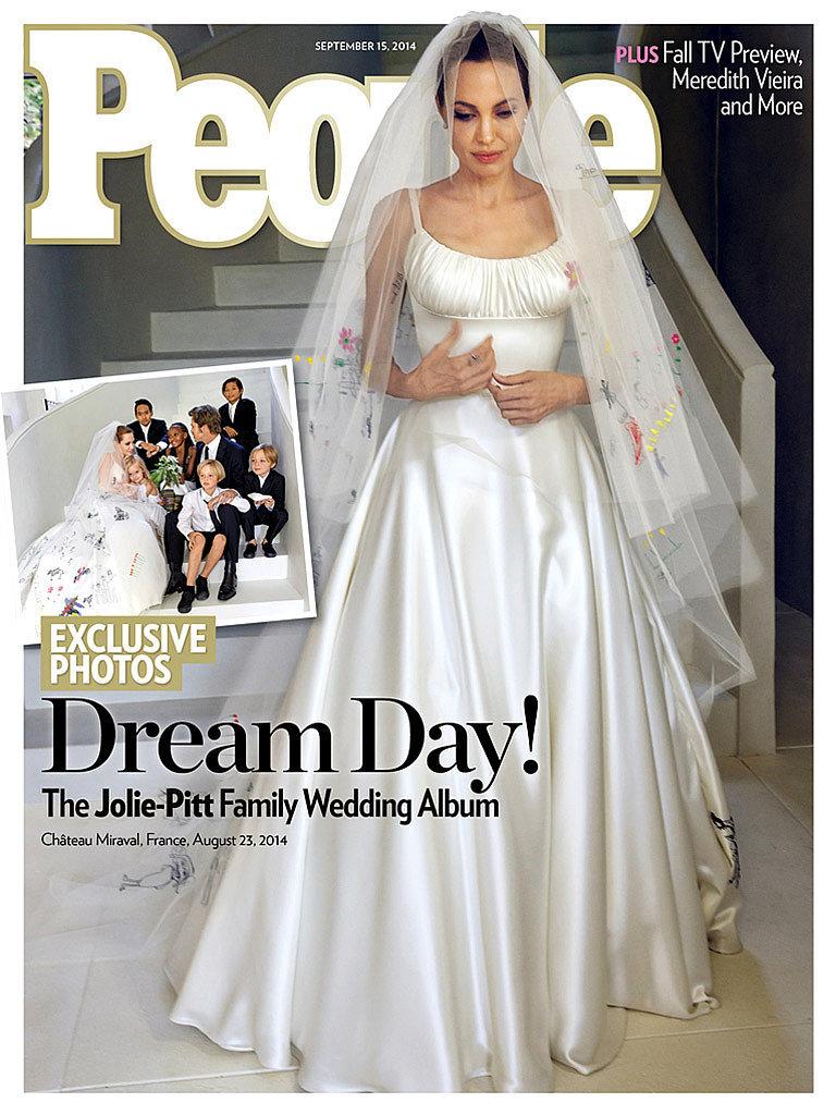 Angelina Jolie and Brad Pitt Wedding PicturesAngelina And Brad Pitt Wedding Pictures