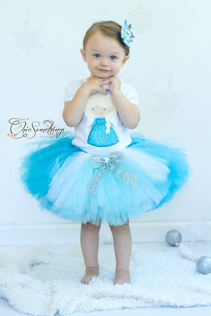 This Frozen tutu ($38) is absolutely perfect for infant Elsa fans. Simply pair with a white or blue t-shirt for a sweet costume this Halloween.