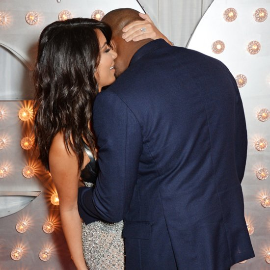 Kim Kardashian And Kanye West At GQ Men of the Year Awards