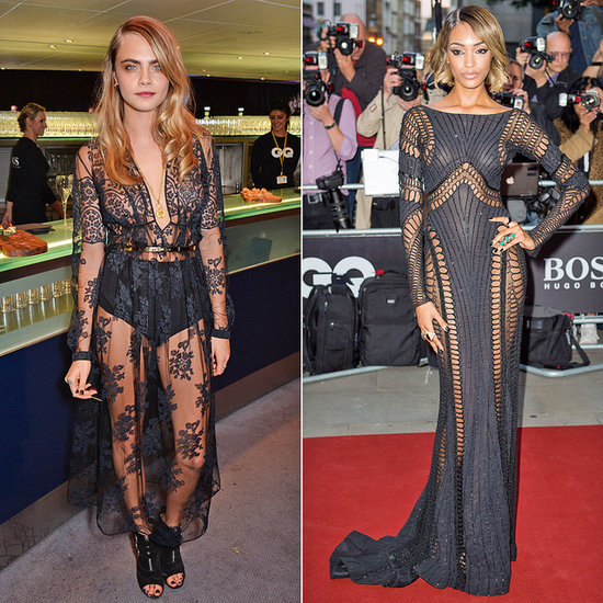 Cara Delevingne and Jourdan Dunn at  2014 GQ Men of the Year