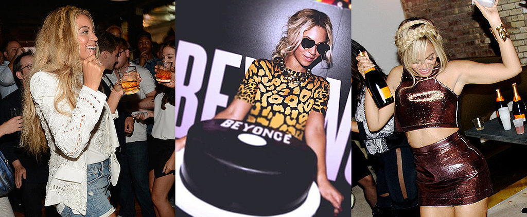 She Likes to Party: 19 of Beyoncé's Most Celebratory Snaps
