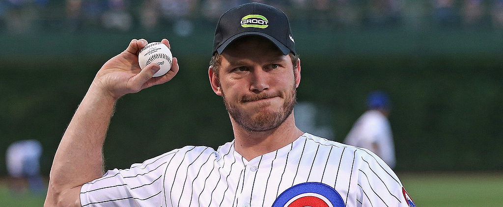 Chris Pratt Somehow Makes a Terrible First Pitch Seem Adorable
