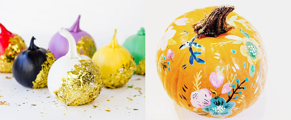 25+ Ways to Decorate Pumpkins Without Carving