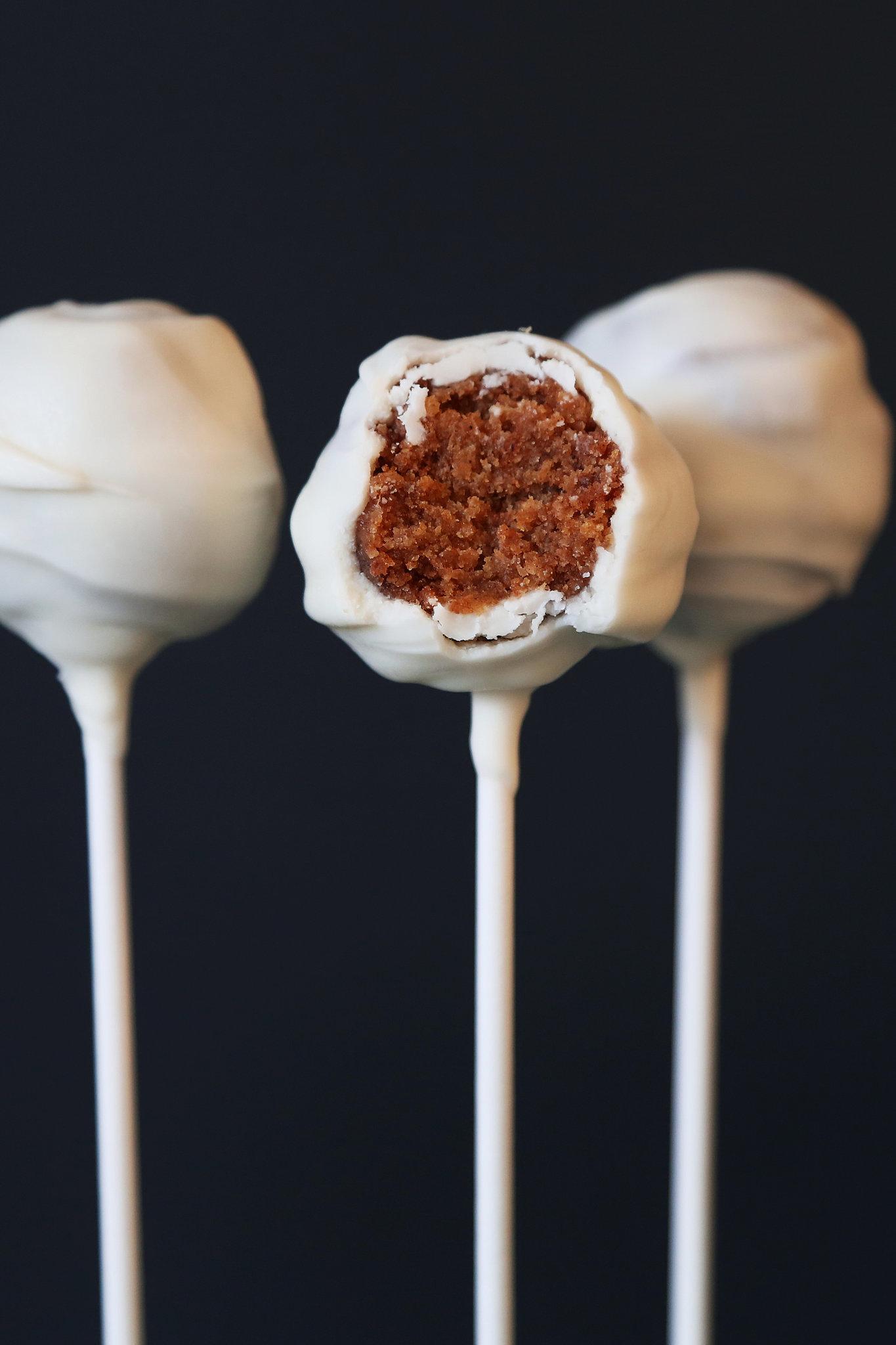 Cake Pops Recipe Images : Pumpkin Cake Pops Recipe POPSUGAR Food