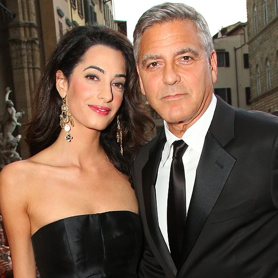 George Clooney and Amal Alamuddin on Red Carpet Pictures