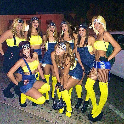 Ghouls Gone Wild! 50 Creative Girlfriend Group Costumes