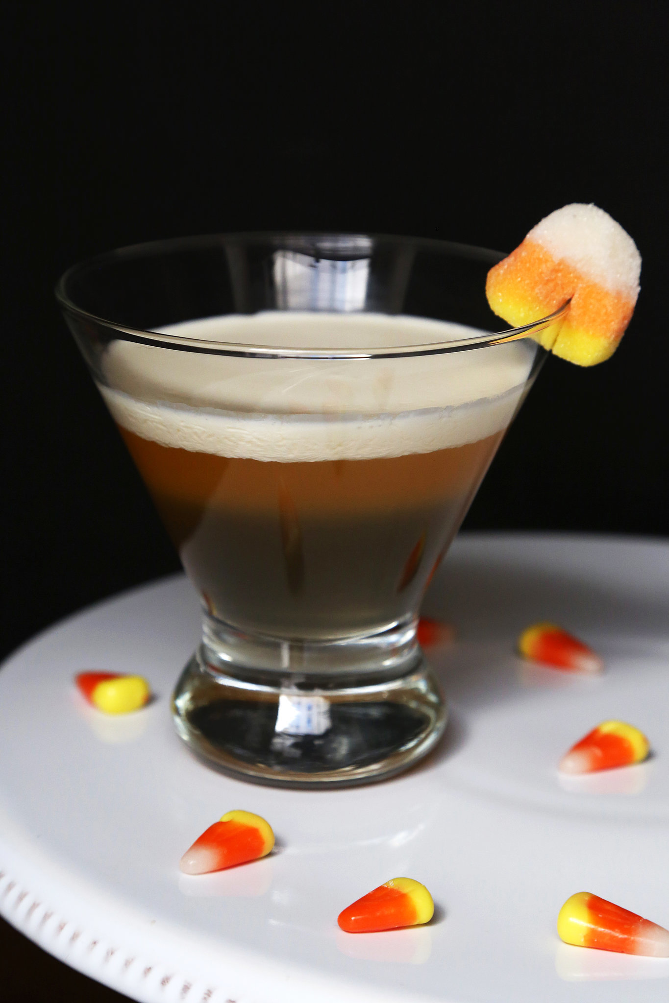 We love candy corn , so why not drink it? The Halloween -themed trick ...