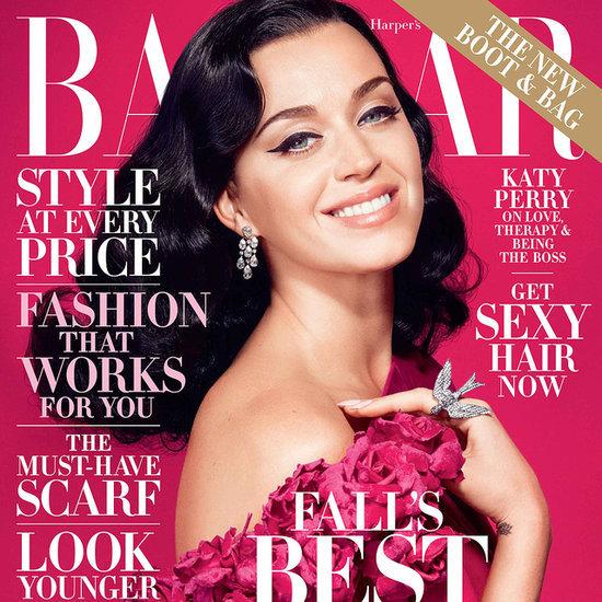 Katy Perry Interview For Harper's Bazaar October 2014