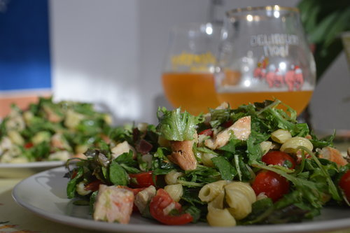 Lighter BLT Salad