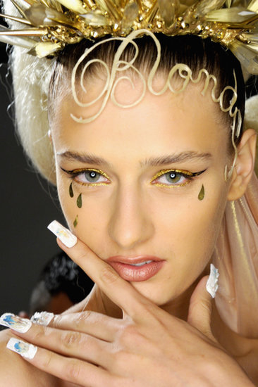 Genie Braids, Pierced Brows, and More! 360 Degrees of Fashion Week Beauty