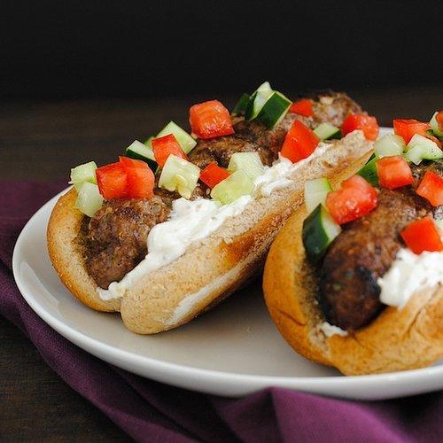 Lebanese Beef Kafta Dogs