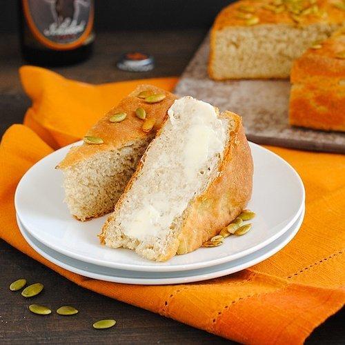 Quick Pumpkin Beer Bread