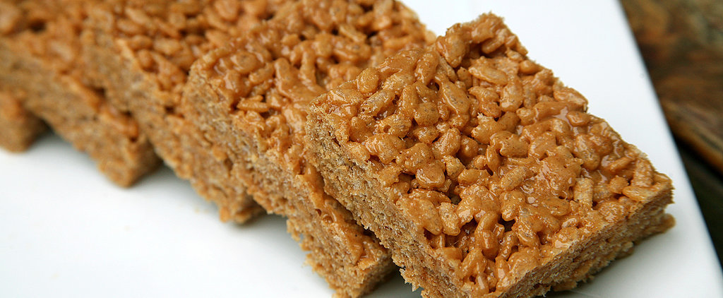 Protein-Packed Peanut Butter Rice Krispies Treats