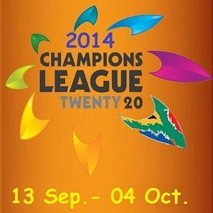 Get schedule of Cahmpions league T20 2014