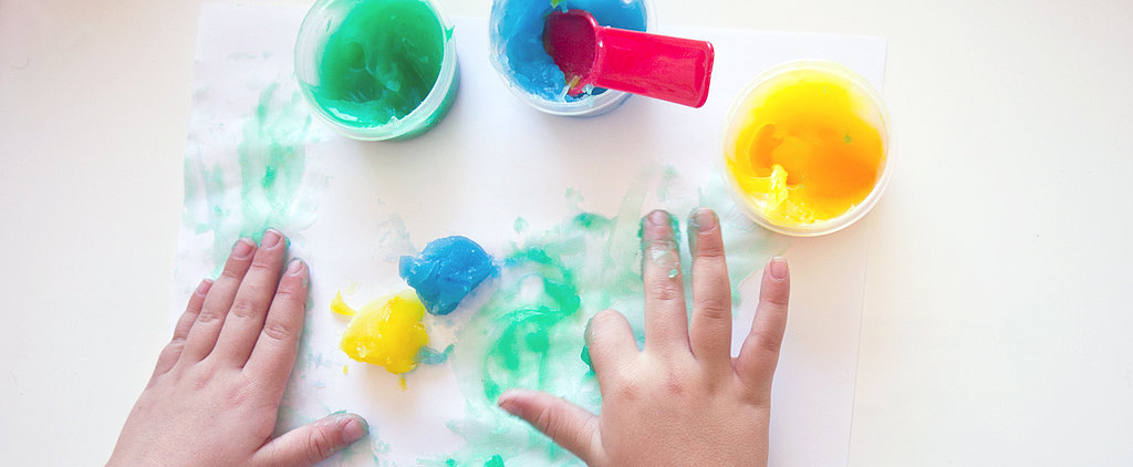 Whip Up Homemade Finger Paint in Minutes